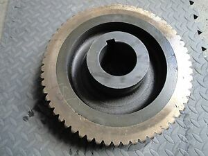 Large Brass Steel Gear 59t 14 Dia 3 125 cen 75lbs 503 180 645e