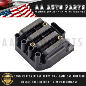 Uf484 New Ignition Coil For Vw Jetta Beetle Golf Clasico L4 2 0l 06a905097