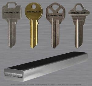 Locksmith Custom Steel Hand Stamp Key Marking Safe Security Metal Punch tool die