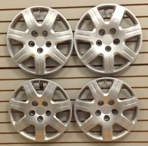 New 2006 2011 Honda Civic 16 Hubcap Wheelcover Set Of 4 Bolt on Silver