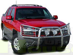 T H 1 Piece Brush Grille Guard Push Bar For 2007 2011 Chevrolet Tahoe