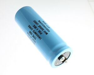 New Mallory Cgs 140000uf 10v Large Can Aluminum Electrolytic Capacitor Mfd Dc