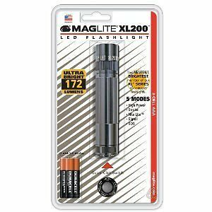 Maglite Xl200s3096 Xl200 Led Flashlight Grey 5 Modes