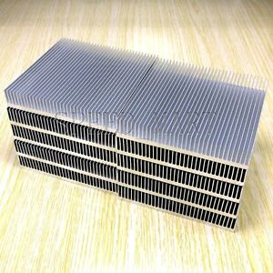 10pcs Cooling Fin Heat Sink For Pcb Led Memory Chip Ic Radiator 90mm 90mm 15mm