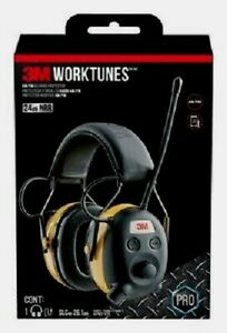 3m Tekk Peltor Digital Worktunes Radio Mp3 Hearing Protection Headphone Earmuffs