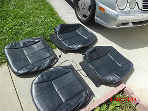 1998 2002 Mercedes Benz W210 E430 E420 E320 E300 Front Leather Seat Skin Heated