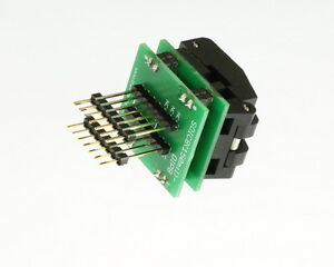 New Batronix Sop8 dip8 pro Professional Production Adapter 8 dip To 8 soic