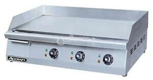 Adcraft Griddle Electric 15 5 X 30 Countertop Grid 30