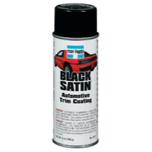 Bondo Mar Hyde 3811 Trim Paint Black Satin 12 Oz Aerosol