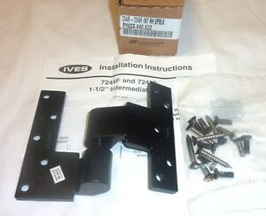 Ives 7244f 7245f Top Brass Pivot Part Intermediate Rh Door Spblk Flat Black New