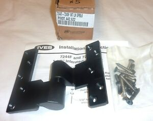Ives 7244f 7245f Top Brass Pivot Part Intermediate Lh Spblk Flat Black New