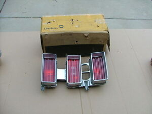 1970 Chevy Impala Tail Light Assembly Rh Nos Taillight 917408 Bezel Lens