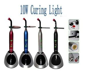New Dental 10w Wireless Cordless Led Curing Light Lamp 2000mw Ce Fda Us Stock
