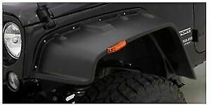 Lund Fx606s Standard 4pc Fx Flat Style Fender Flare For Jeep Wrangler J