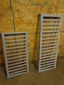 Lot Of 48 Dunnage Rack Pieces 36x18 And 48x18 Out Of Walk in Cooler Freezer