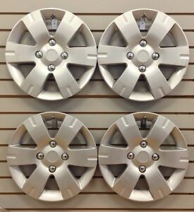 New 15 Hubcap Wheelcover Set Of 4 That Fit 2007 2011 Nissan Sentra
