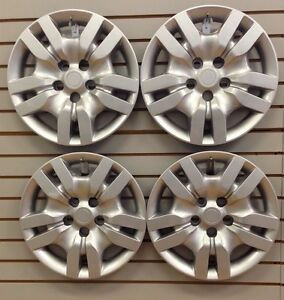 New Bolt On Hubcap Wheelcovers That Fit 2007 2012 16 Nissan Altima Set