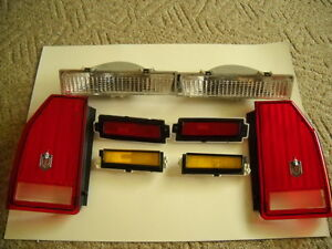 1987 1988 Monte Carlo Ss New Complete 8 Pc Light Set