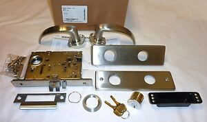 Falcon Ma441l Qn 630 Mortise Classroom Security Lock Quantum Napa W cy Stainless