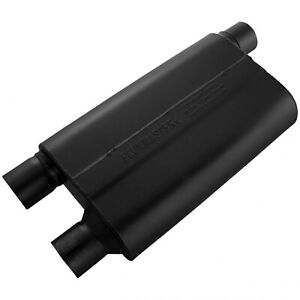 Flowmaster 842583 Universal 80 Series Muffler 2 5 Offer In 2 5 Dual Out