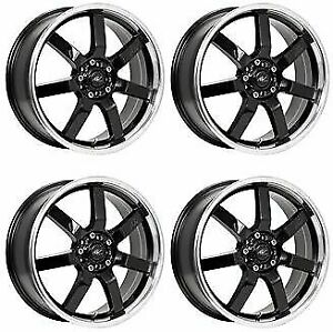 Icw Racing 213mb Osaka 213mb 5650338 Qty 4 Rims 15x6 5 38mm 4x100 Gloss Black