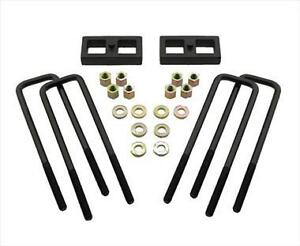 Pro Comp Suspension 58555 5 5 Lift Rear Block Kit For 99 10 Ford F250 350