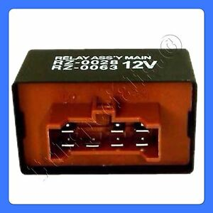 Main Relay Honda Civic Crx 1986 1991