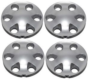 New Center Hub Cap Set That Fits Toyota Tacoma Tundra Sequoia Silver 16 Wheel