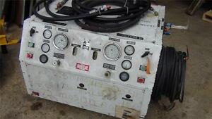 Blalock Hm 65 2 Hydraulic Generator With Hoses Power Cable Very Nice