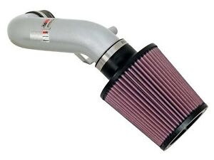 K n 69 Series Silver Typhoon Air Intake System For 2002 2006 Acura Rsx 2 0l L4