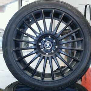 Enkei Rpf1 17 Inch Black Painted Rim
