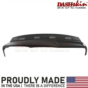 02 03 04 05 Dodge Ram Molded Dash Cover Cap Skin 1 Piece Overlay Black