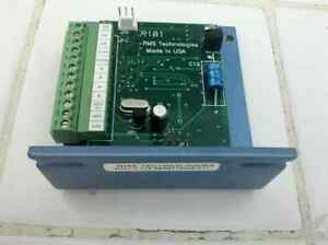 Rms Technologies R101 Stepper Motor Driver Controller Microstepping