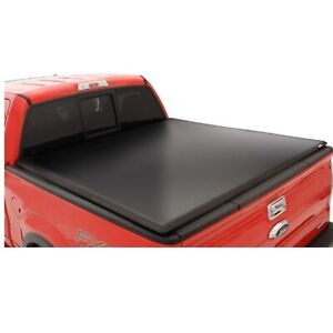 Lund 95090 Black Vinyl Tri Fold Tonneau Cover For Nissan Frontier 5 Ft Bed