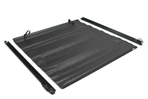 Lund 96071 Black Vinyl Roll Up Tonneau Cover For 94 04 Chevrolet S10 4 5 Ft Bed