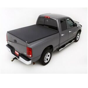Lund 95864 Black Vinyl Tri fold Tonneau Cover For Dodge Ram ram 6 5 Ft Bed