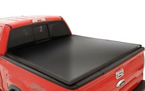 Lund 95056 Black Vinyl Tri Fold Tonneau Cover For Nissan Frontier 6 Ft Bed