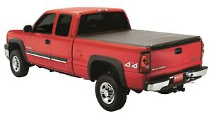Lund 95016 Black Vinyl Tri fold Tonneau Cover For Dodge Ram 8 Ft Bed