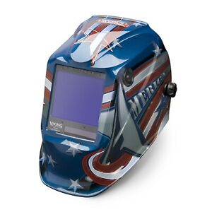 Lincoln Viking 3350 All American Auto Darkening Welding Helmet k3175 3