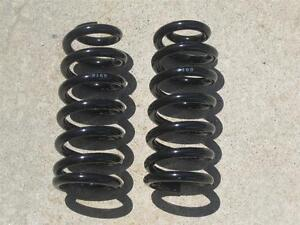 Chevy Gmc 1963 1987 1 2 Ton Pickup Truck 1 Lowering Front Coil Springs In Stock