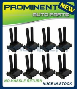 Set Of 8 Ignition Coils For 11 15 Dodge Durango Jeep Ram Chrysler 5 7l V8 Uf504