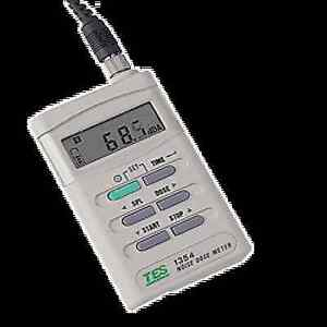 Tes 1354 Noise Dose Meter Measure Noise Dose Exposure Time Sound Level 70 90db