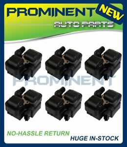 Set Of 6 Ignition Coils Uf359 On Plug For Mercedes benz C Cl Clk Ml Class