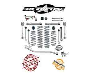 Rubicon Express 4 5 Super Flex Short Arm Kit 97 06 Jeep Wrangler Tj Lj Re7000