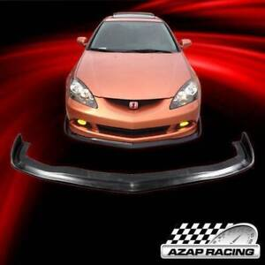 2005 06 Cs Style Poly Urethane Front Bumper Lip Spoiler Fits Acura Rsx Coupe 2dr