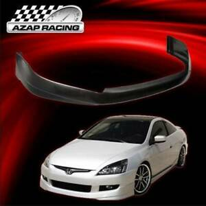 03 05 Poly Urethane Front Bumper Lip Spoiler Fits Honda Accord Ex Lx Coupe 2door