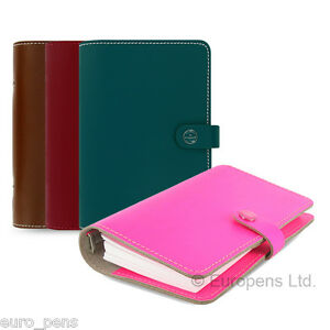 Filofax The Original Personal Size Leather Organiser All Colours Available