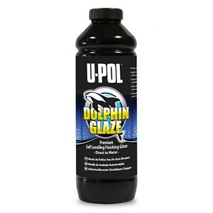 U Pol Dolphin Glaze Finishing Putty Upol Up0713 880ml Bottle Easy To Sand