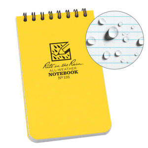 Rite In The Rain 135 All weather Universal Pocket Notebook 3 inch By 5 inch