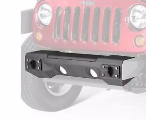 Rugged Ridge 11542 01 Steel Front Winch Bumper For Jeep Wrangler